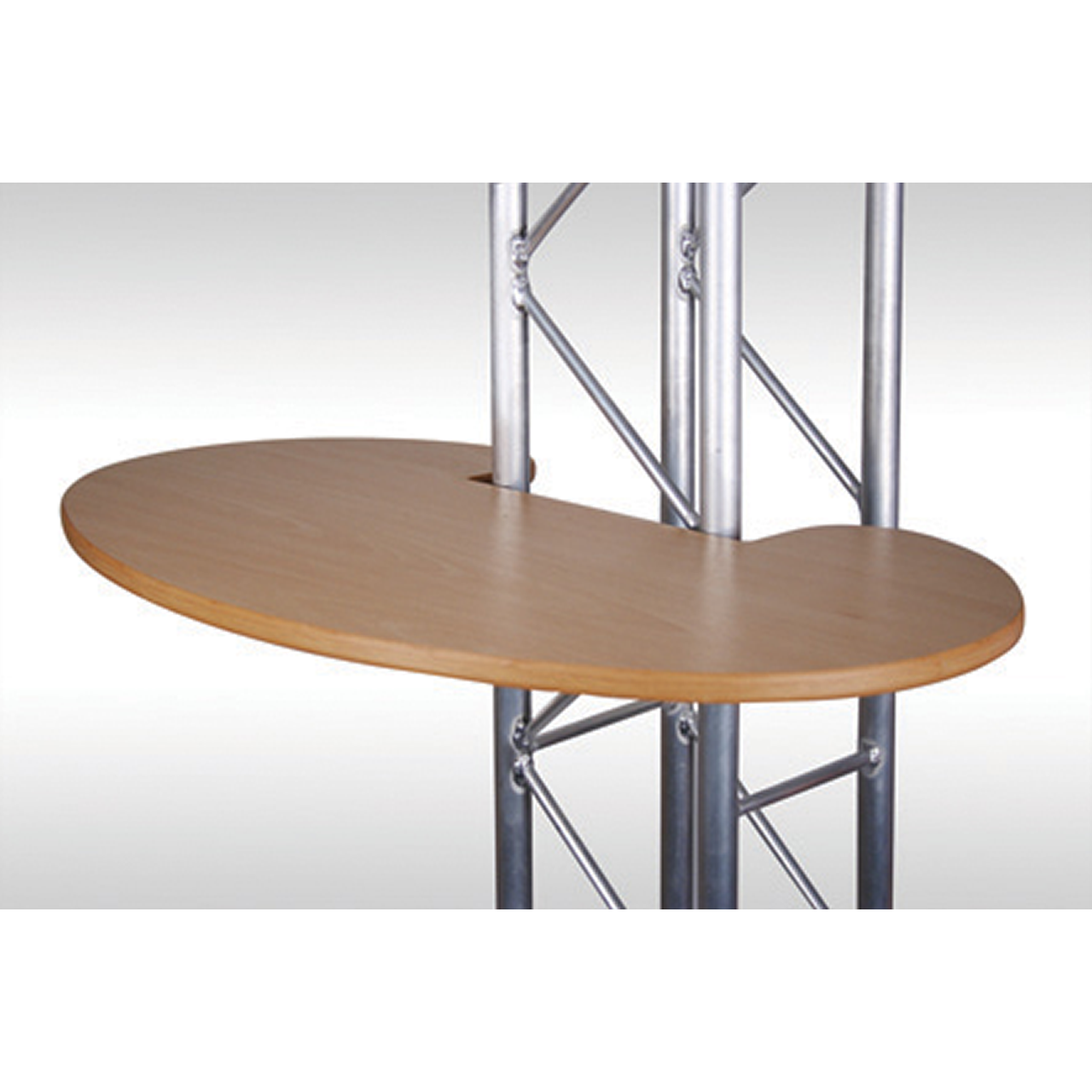 Exhibition Stand Table : Arena gantry table tops gh display