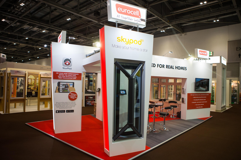 Custom Exhibition Stand Uk : Custom exhibition stands display