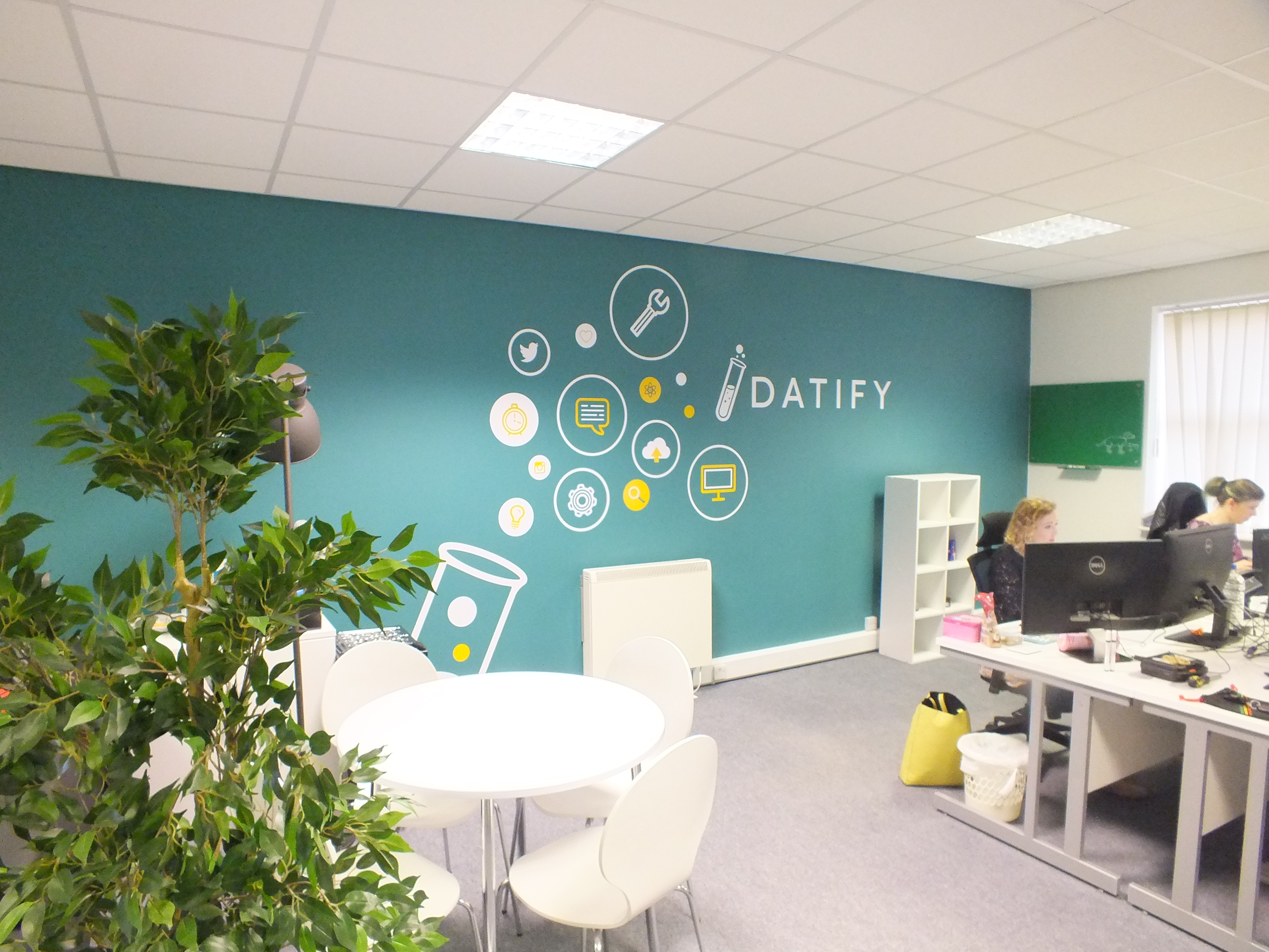 Datify Wall Graphics Office Branding Gh Display