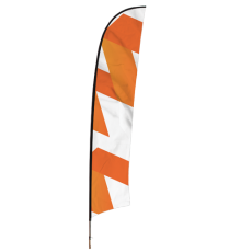 Printed Feather Flag