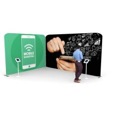 3m x 4m Fabric Display Stand