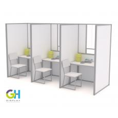 1.2m Self Build COVID Booths