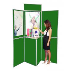 7 Panel folding display boards