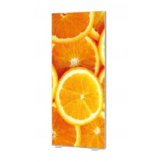 Free Standing Double Sided Fabric LED Light Box 180mm