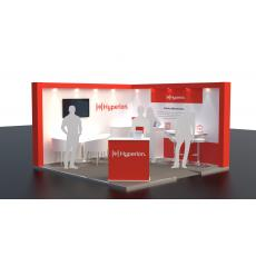 4m x 4m Exhibition Stand Hire