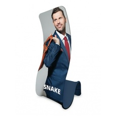 Formulate Snake Fabric Display Stands
