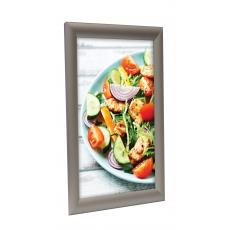 Snap Frame Poster Display 25mm Silver