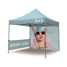 3x3 Branded Zoom Tent