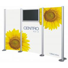 Centro Audio Visual Display Stand Kit 3