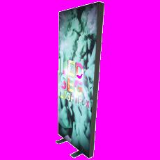 Economy Lightbox Display