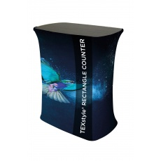 Texstyle Rectangular Fabric Exhibition Counter