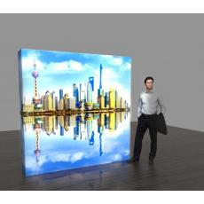 3x3 Backlit Pop Up Display