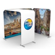 3m x 2m Fabric Display with Arch