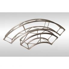 Arena gantry radius curve