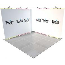 3m x 3m Twist Exhibition Stand