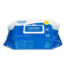 Pack 200 Clinell Antibacterial Hand Wipes