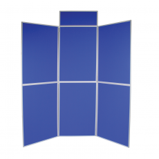 6 Panel folding display boards