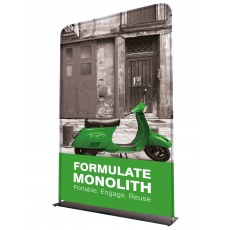 Formulate Monolith Fabric Display