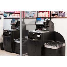 Retail Floor Standing Screens