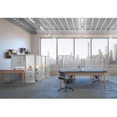Acrylic Desk Dividers L Shaped
