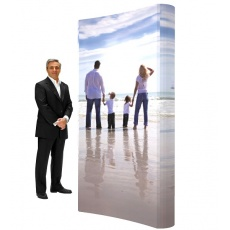 3 x 1 Premium Pop Up Display Stand