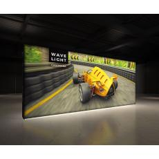6m Wavelight Casonara SEG Lightbox Display Wall