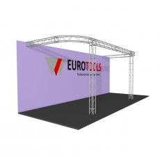 Arena three sided stand