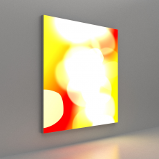 Tension Fabric System Lightbox Wall Mounted