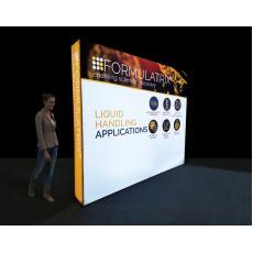 2.5m SEG Lightbox Display Wall