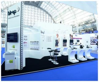 Bleep Exhibition Stand
