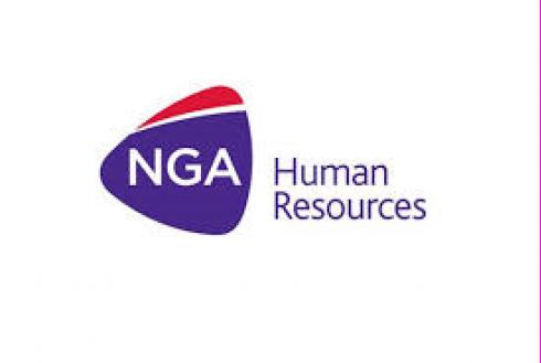 NGA Human resources logo
