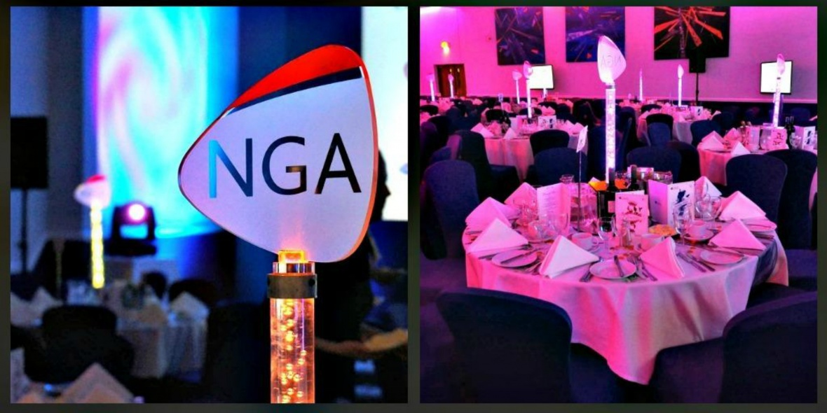 NGA Human Resources event branding