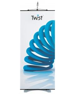 Original Twist banner stand