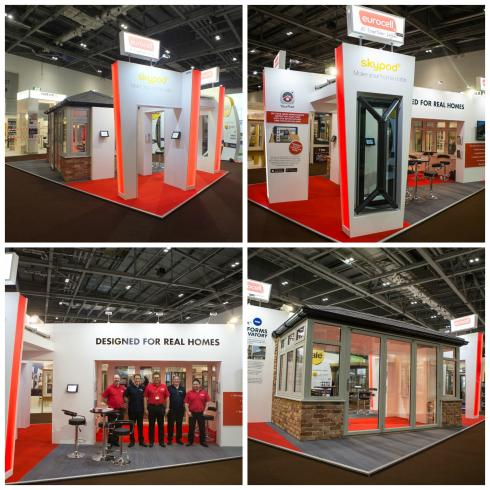 eurocell custom exhibition stand
