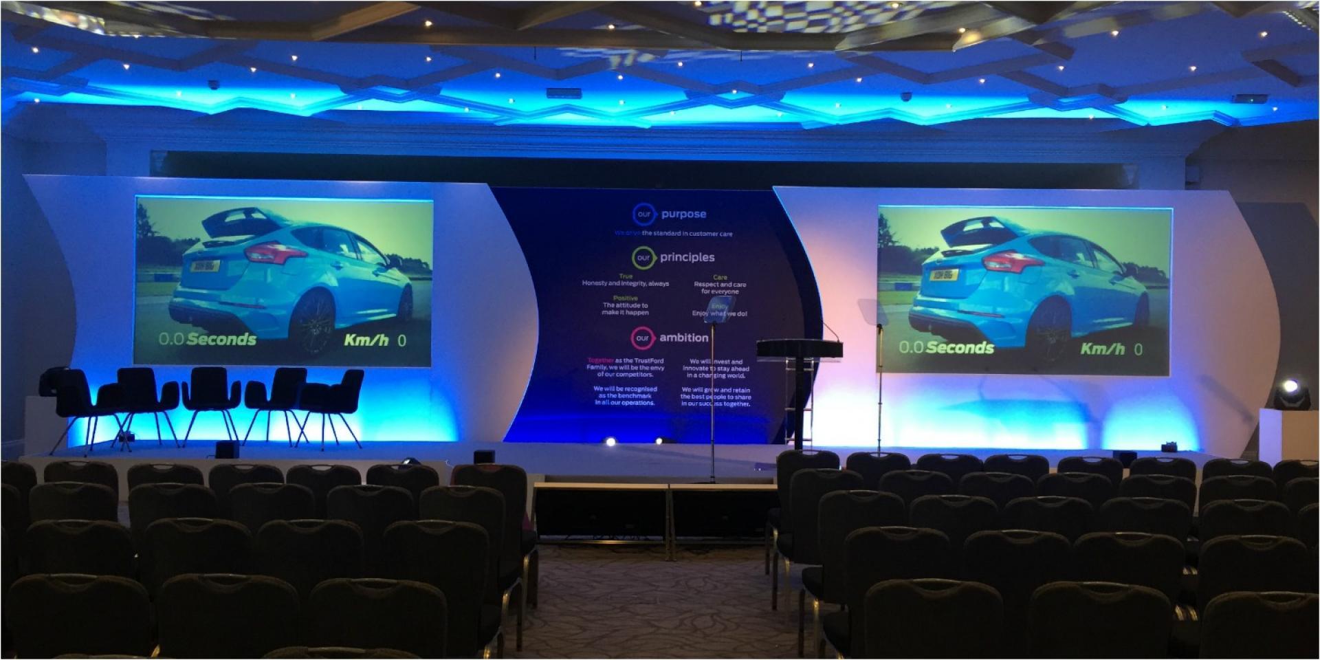 Ford event branding