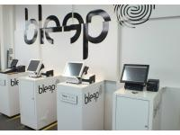 Bleep Showroom displays