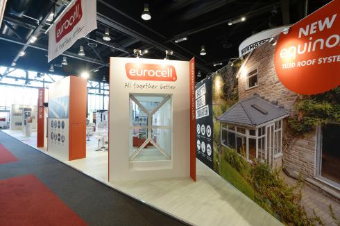 Eurocell bespoke exhibition stand