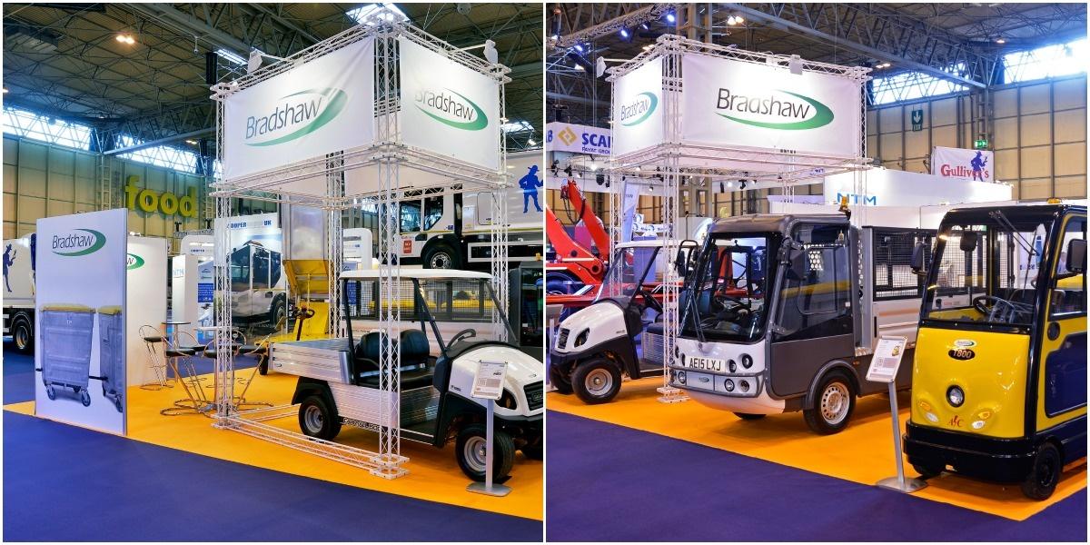 Bradshw's bespoke exhibition stand hire