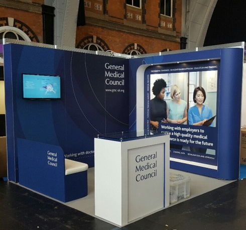 GMC Modular exhibition stand