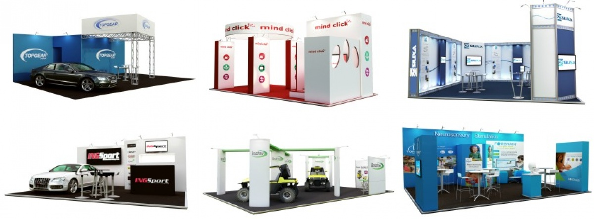 exhibition stand design drawings