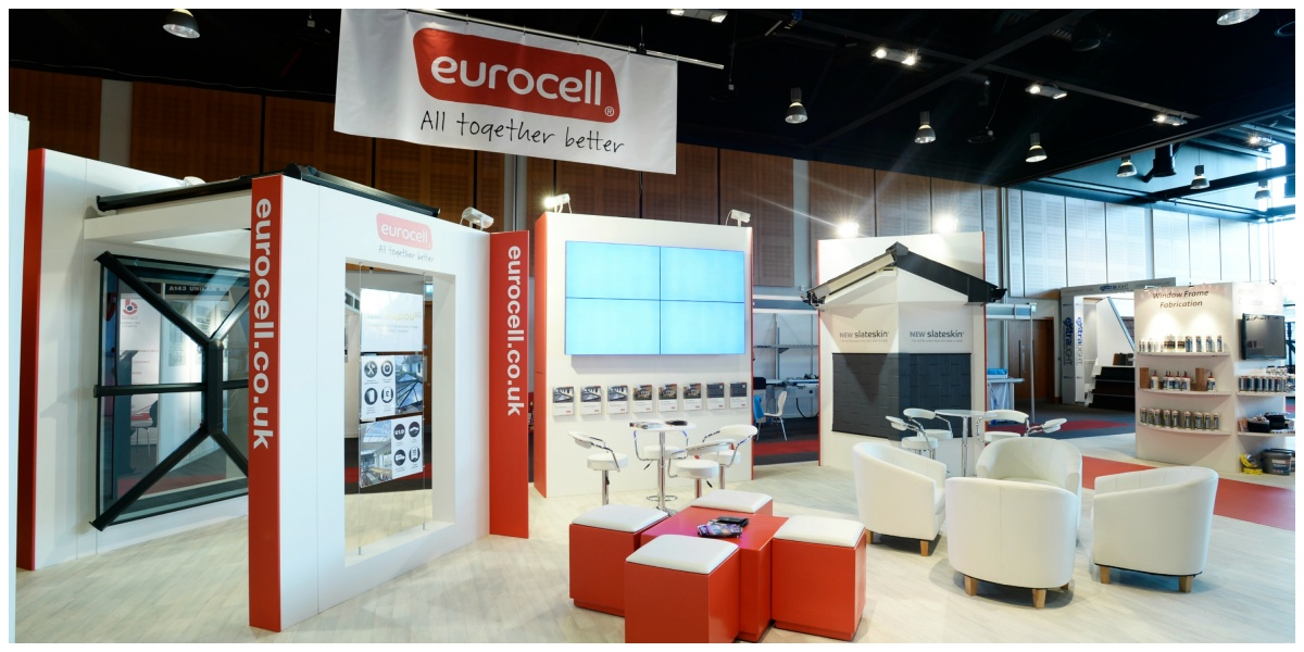 Custom exhibition stand at Fit Show