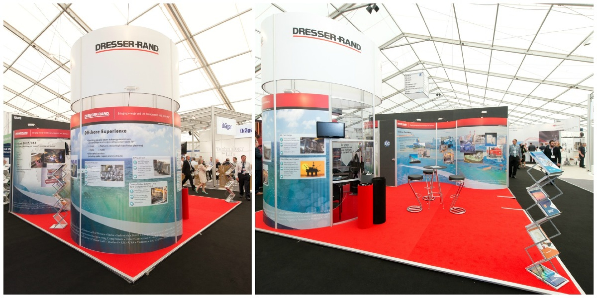 Dresser-Rand Exhibition stand graphics