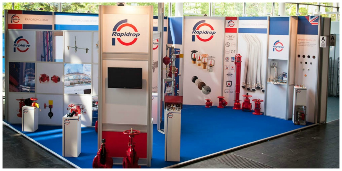 Modular Exhibition Stand for Rapidrop