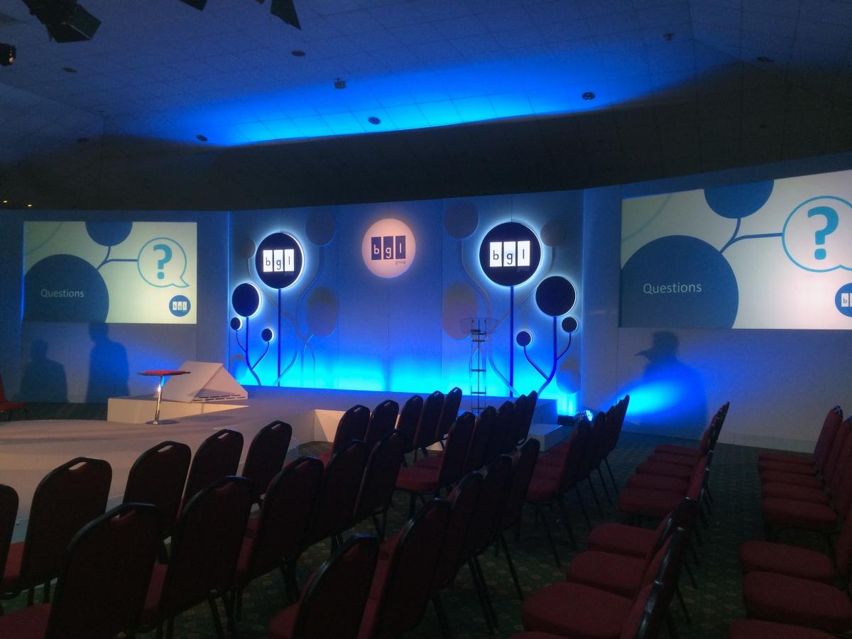 BGL Event branding