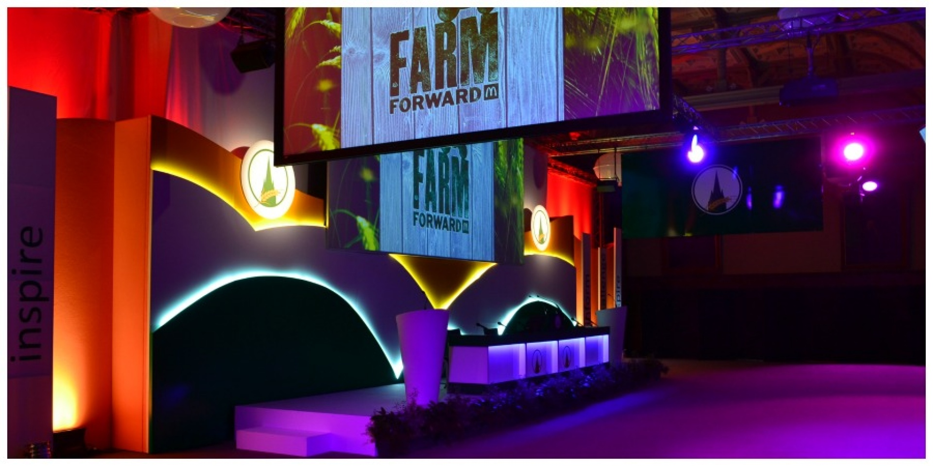 Oxford Farming Conference Event branding