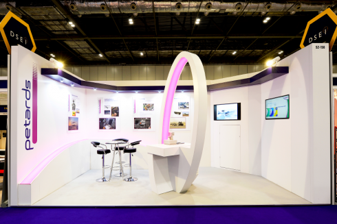Custom exhibition stand for hire