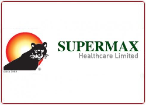 Supermax heathcare logo