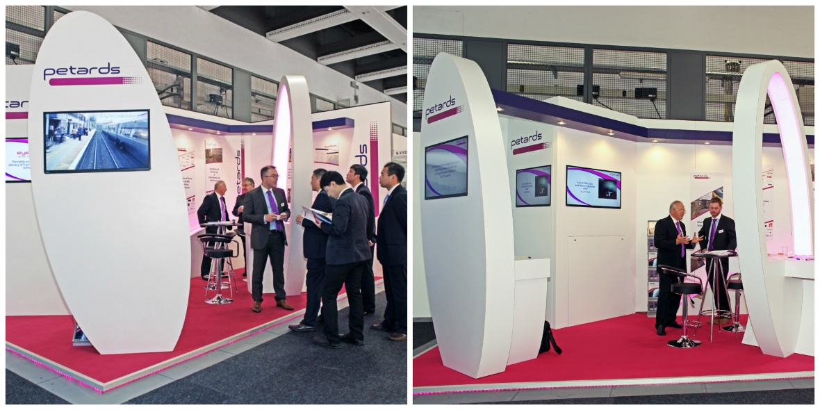Petards exhibition stand at InnoTrans