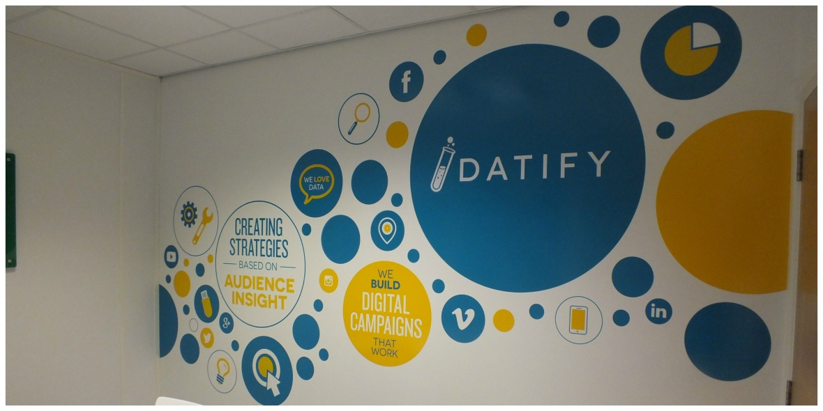 Datify office branding