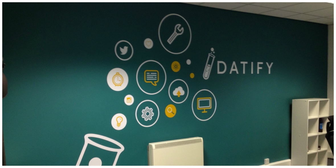 Datify wall graphics